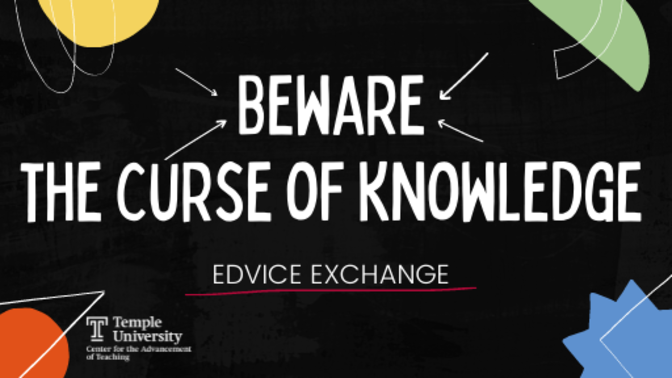 Beware the Course of Knowledge