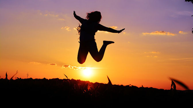 sunrise jump for joy