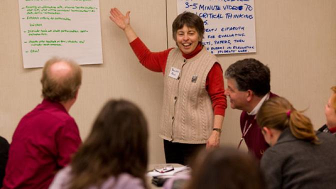 Winter Faculty Conference Explores Learner-Centered Teaching